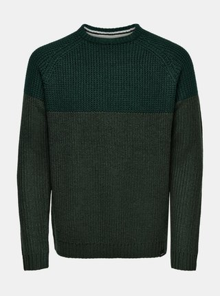 Zelený svetr ONLY & SONS Kelvin