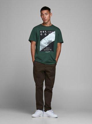 Zelené tričko Jack & Jones