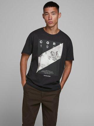 Čierne tričko Jack & Jones