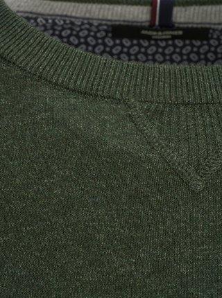 Kaki sveter s prímesou kašmíru Jack & Jones