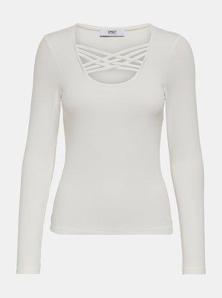 Biele tričko ONLY Mary