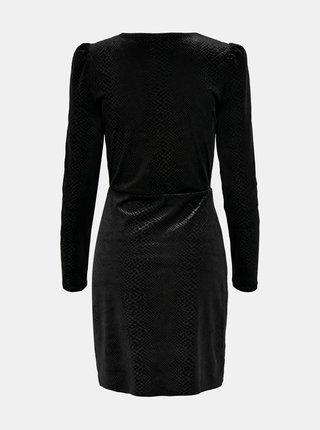 Černé společenské šaty ONLY Nerve