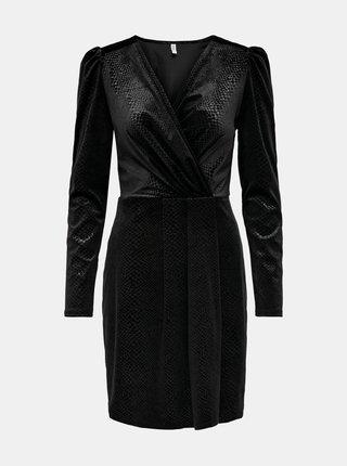 Čierne společenské šaty ONLY Nerve