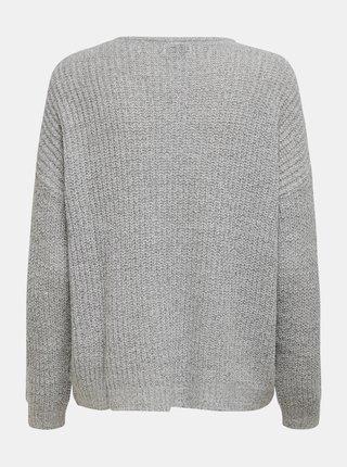 Šedý sveter Jacqueline de Yong