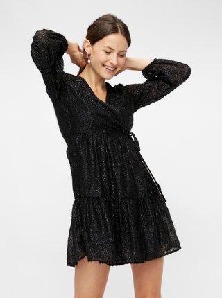 Čierne šaty Pieces