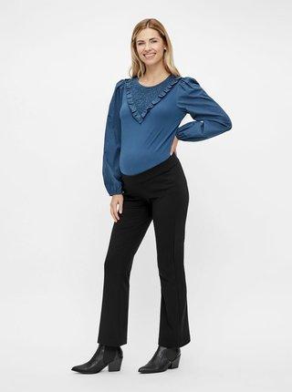 Čierne tehotenské nohavice Mama.licious