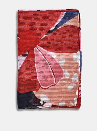 Ružovo-červená kvetovaný šatka Dorothy Perkins