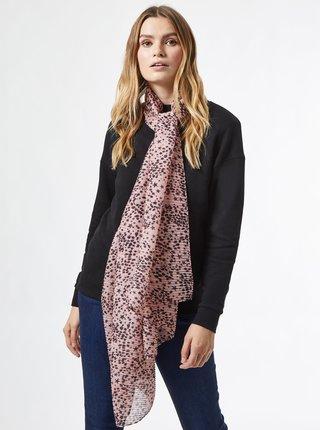 Ružová vzorovaná šatka Dorothy Perkins