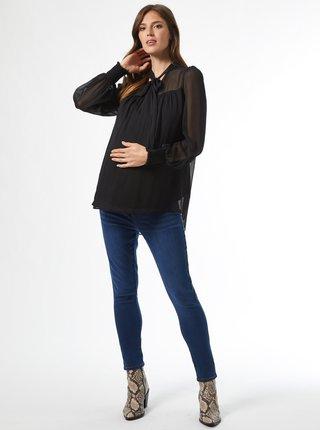 Černá těhotenská halenka Dorothy Perkins Maternity