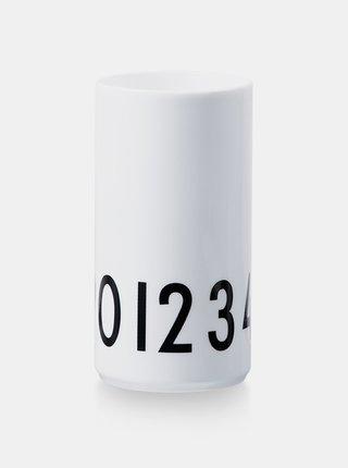 Biela váza Design Letters
