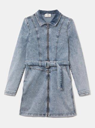 Světle modré džínové šaty TALLY WEiJL