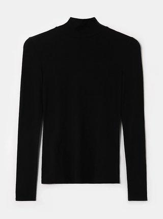 Černé tričko s rolákem TALLY WEiJL