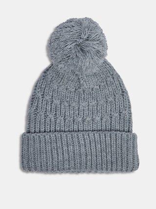Čiapky, čelenky, klobúky pre ženy Dorothy Perkins - sivá