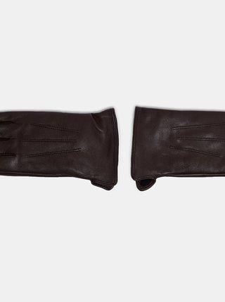 Rukavice pre ženy Dorothy Perkins - tmavohnedá