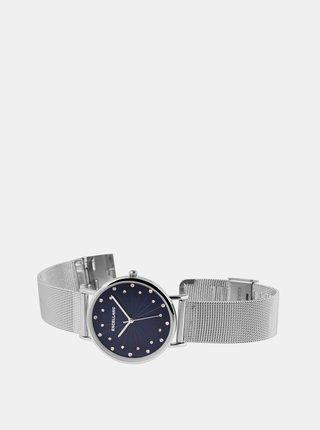 Dámske hodinky s nerezovým remienkom v striebornej farbe Excellanc