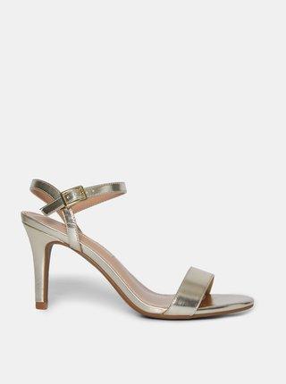 Sandálky ve zlaté barvě Dorothy Perkins