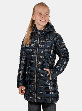 Modrý holčičí vzorovaný kabát SAM 73 Betty