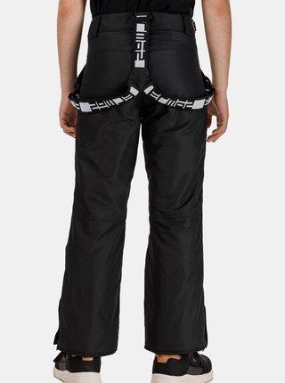 Čierne detské lyžiarské nohavice SAM 73