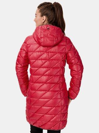 Červený dámský prošívaný kabát SAM 73 Karen