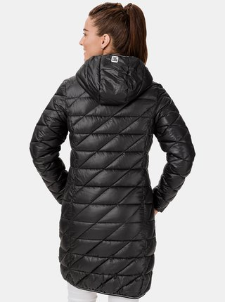 Černý dámský prošívaný kabát SAM 73 Karen