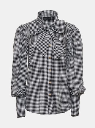 Černo-bílá dámská kostkovaná košile Bohemian Tailors