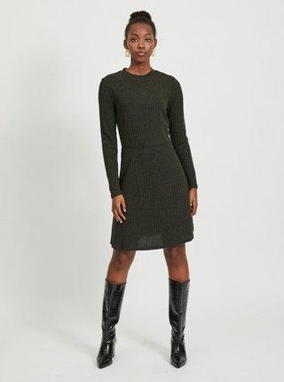 Kaki šaty VILA