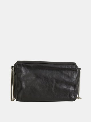 Černá kožená crossbody kabelka .OBJECT-Nety