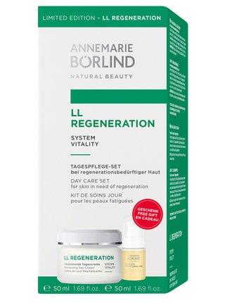 Annemarie Börlind Dárková sada LL Regeneration Denní krém 50 ml + Pleťové zpevňující sérum 15 ml