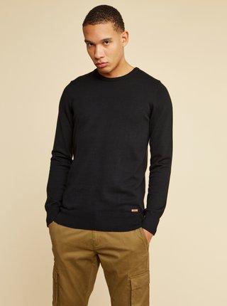 Černý pánský basic svetr ZOOT Baseline Ferit