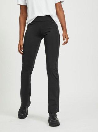 Černé flared fit kalhoty .OBJECT