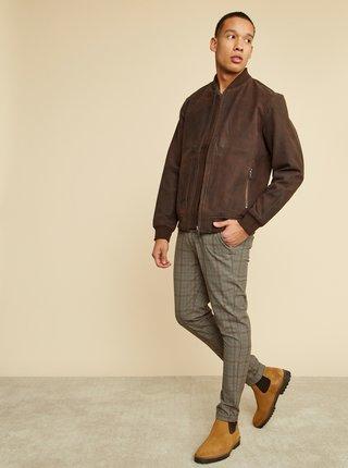 Hnedý pánsky sveter ZOOT Baseline Leo