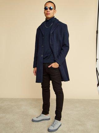 Tmavomodrý pánsky kabát ZOOT Baseline Christian