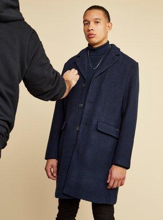 Tmavě modrý pánský kabát ZOOT Baseline Christian
