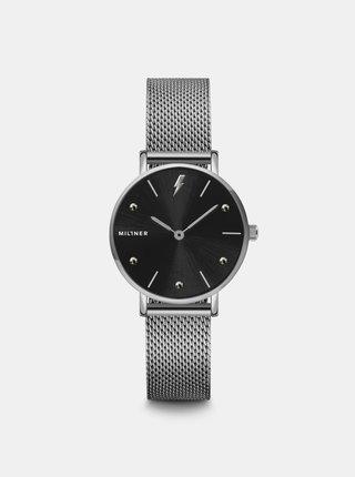 Dámské hodinky s nerezovým páskem ve stříbrné barvě Millner Cosmos