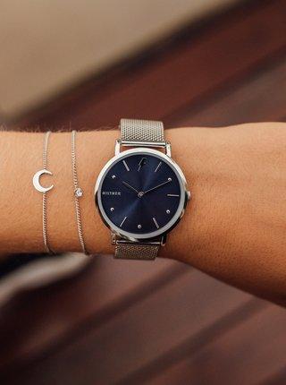Dámske hodinky s nerezovým remienkom v striebornej farbe Millner Cosmos