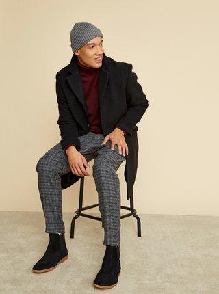 Čierny pánsky kabát ZOOT Baseline Christian