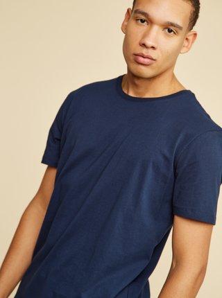 Tmavě modré pánské basic tričko ZOOT David