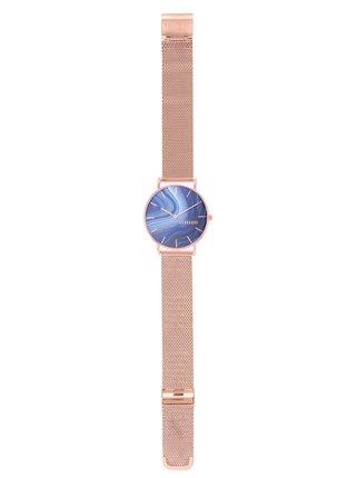 Dámské hodinky s nerezovým páskem v růžovozlaté barvě Clueless