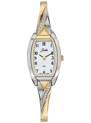 Dámské hodinky s nerezovým páskem ve zlaté barvě  Joalia