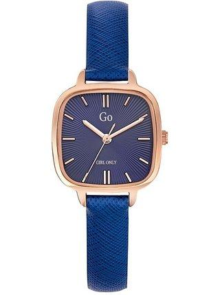 Dámské hodinky s tmavě modým koženým páskem Girl Only