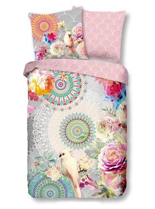 Home farebné obojstranné posteľné obliečky na jednolôžko Hip Lucero 140x200cm