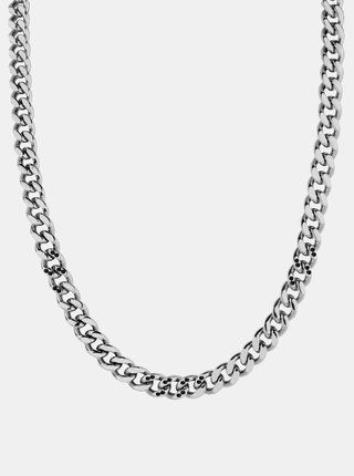 Pánsky náhrdeľník v striebornej farbe Morellato