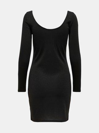 Čierne púzdrové šaty Jacqueline de Yong