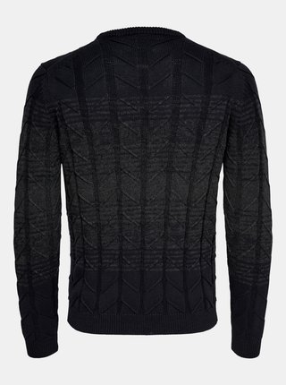 Tmavomodrý sveter ONLY & SONS