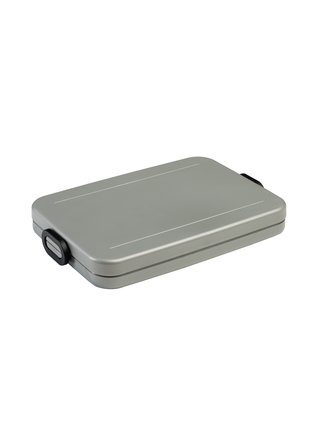 Mepal Svačinový box nízký Silver
