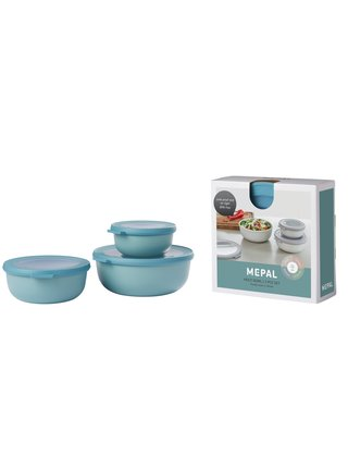 Mepal Set 3ks misek Cirqula Nordic Green 350+750+1250 ml