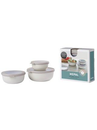 Mepal Set 3ks misek Cirqula Nordic White 350+750+1250 ml