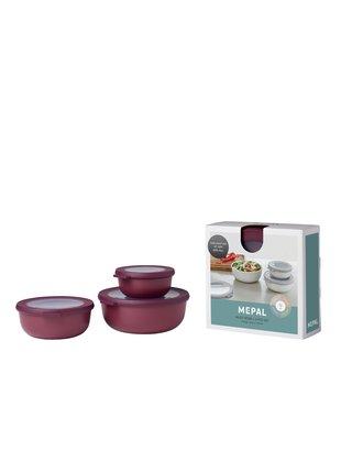 Mepal Set 3ks misek Cirqula Nordic Berry 350+750+1250 ml