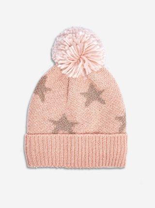 Ružová vzorovaná čiapka Dorothy Perkins