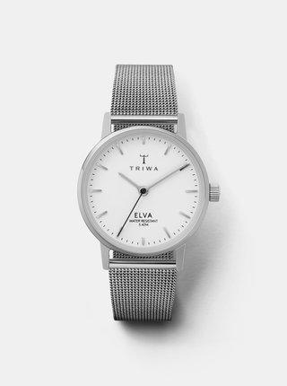 Dámské hodinky s kovovým páskem ve stříbrné barvě TRIWA